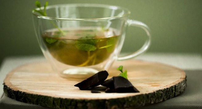 Sip peppermint tea things before a huge meal to ensure you don t put on weight