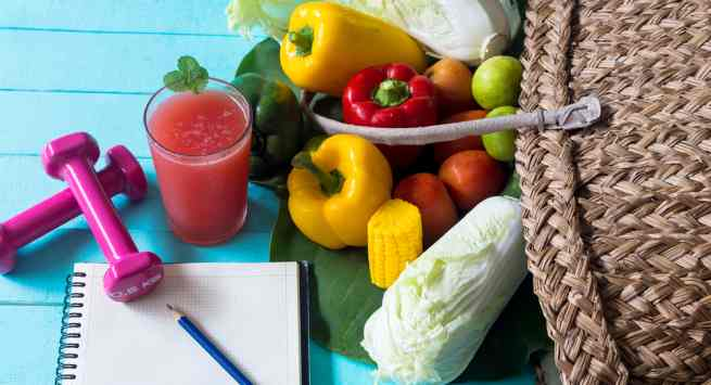 Fruits and veg vegetarian foods for a healthy weight gain