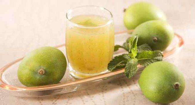 aam-panna drink in summer