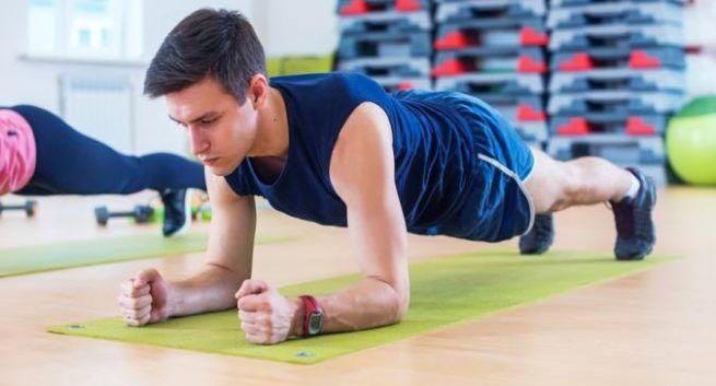 forearm planks