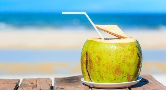 Coconut water in summers