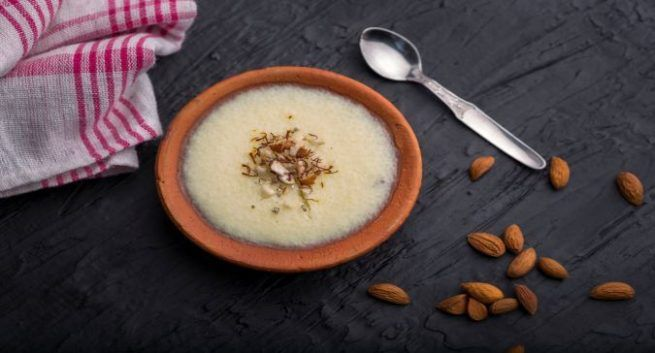 Phirni healthy recipe