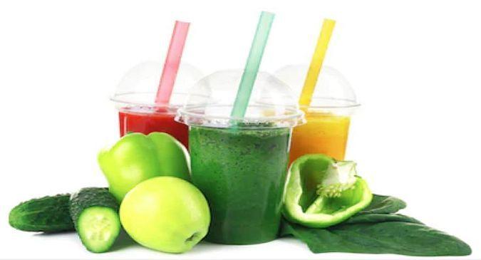 Cucumber-Orange-Lemon-juice फ्लैट पेट के लिए