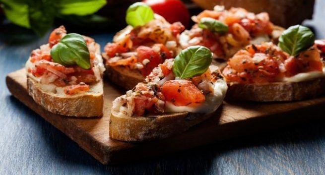 Vegetable Bruschetta - Novotel Imagica Khopoli - Monsoon Recipes