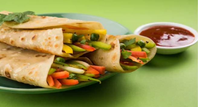 Chapati wrape