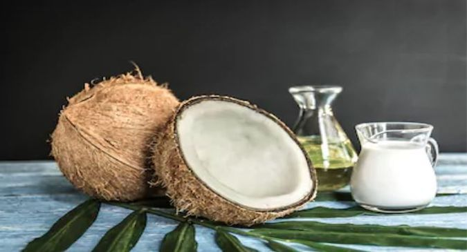 coconut oil for healthy hair