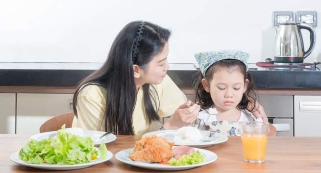 Kids eating habbits