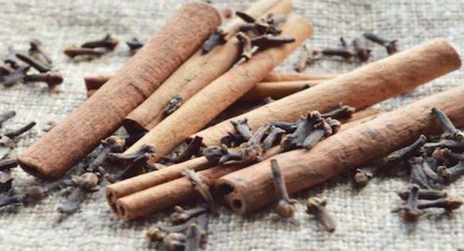Clove And cinnamon