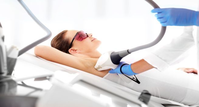 Laser hair removal mild steroid