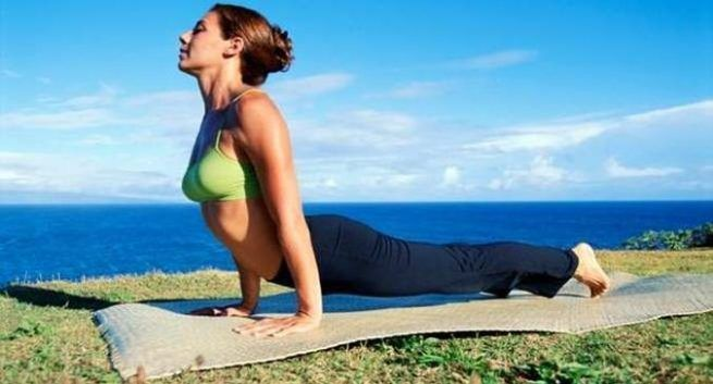 yoga for lose weight - Bhujangasana