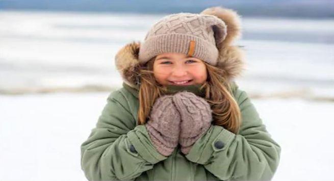 Winter care kids jacket