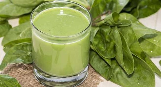 Spinach juice  1