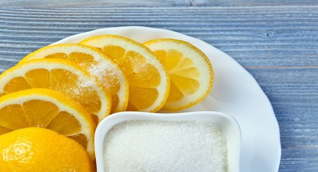 Sugar and Lemon Juice