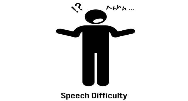 Speech difficulty