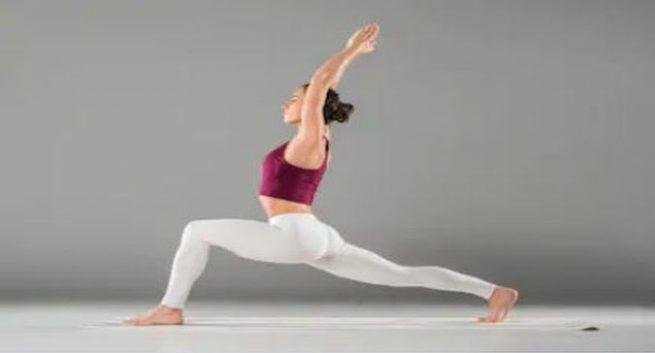 yoga for joint pain Virabhadrasana