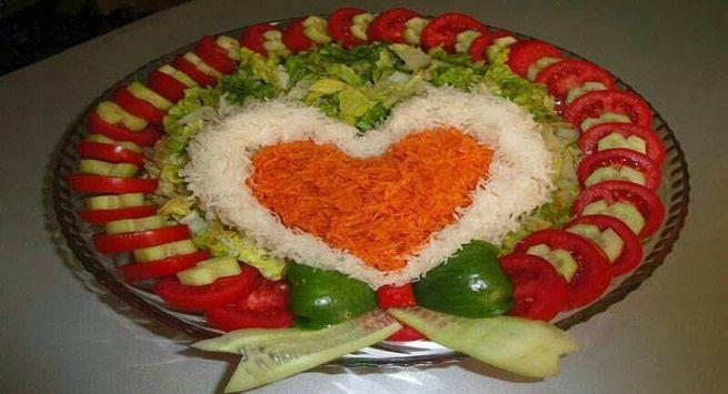 Dil bhara salad