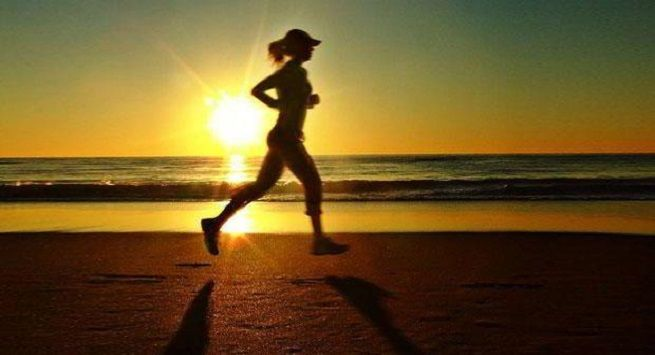 Exercise in morning to prevent heat stroke