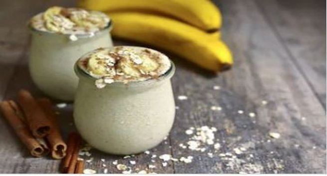 healthy smoothie recipes for weight loss banana oats cinamon