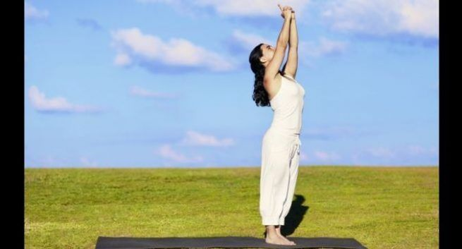 International Yoga Day-yoga for the elderly