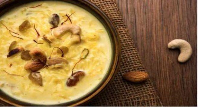 kesar pista kheer for rakhi
