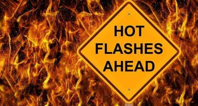 hot-flashes during menopause