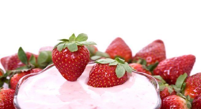 Flavoured yogurt