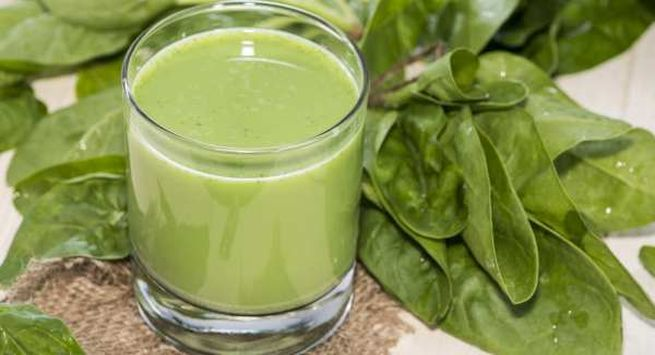 Green leafy veges juice for health liver in hindi
