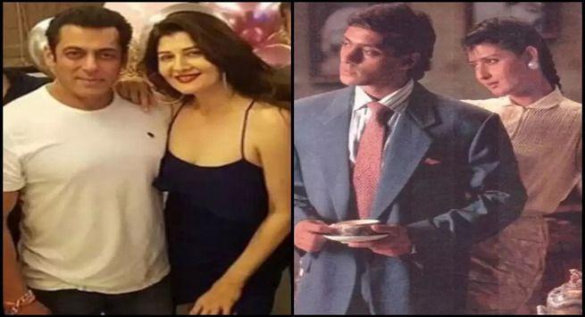 सलमान खान और संगीता बिजलानी  (Salman Khan & Sangeeta Bijlani)