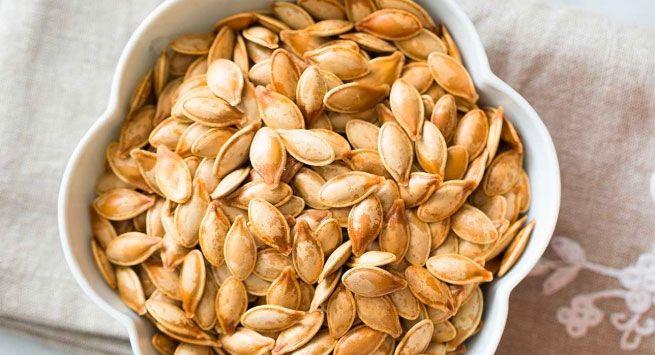 कद्दू के मीठे-मीठे बीज (pumpkin seeds)